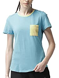2GO Casual Round Neck Half Sleeves Cotton T-Shirt