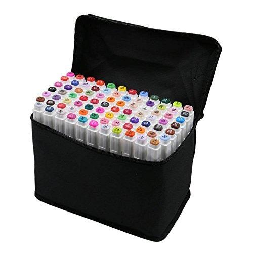 80 Varios Colores Arte Dibujo Rotulador