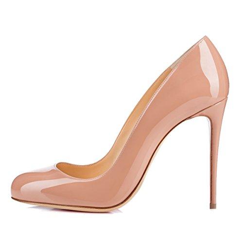 Onlymaker Damenschuhe Pumps Stiletto High Heels klassisch Mehrfarbig Party nackt