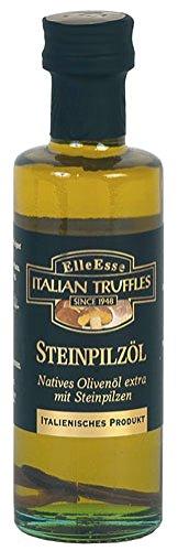 Elle Esse Steinpilz-Öl, Natives Olivenöl extra mit Steinpilzen, aus Italien - 100ml - 6x