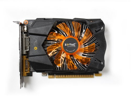 ZOTAC GeForce GTX 750TI 2048MB DDR5 128bit PCI-E Dual DVI Mini-HDMI aktiv -