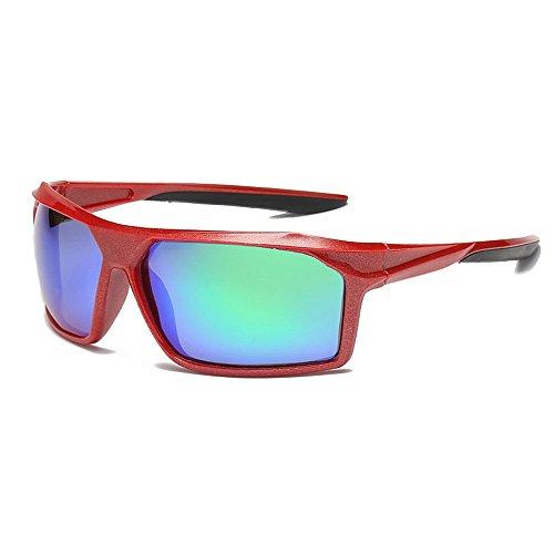 Sport Sonnenbrillen Übergroße Vollformat Coole Outdoor-Sport-Sonnenbrillen Durable Polarized Color Lens UV400 Schutzbrille Coastal City Beach Travel UV-Schutz Fahren Fahrrad Laufen Angeln Golf Sonnenb