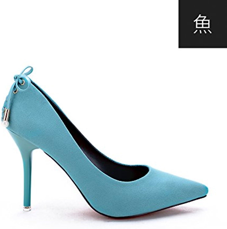 flyrcx simple petite bouche avec un mode européen la dame sangle en cuir fin, des talons dame la partie chaussure b078wt6n9p parent fc4e05