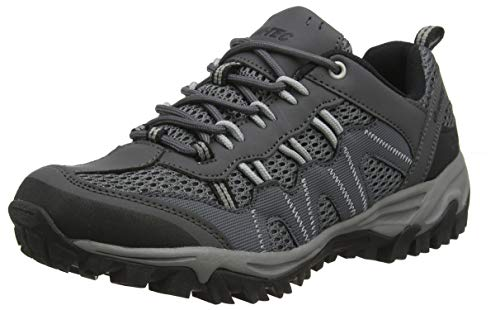 Hi-Tec Jaguar, Zapatillas de Senderismo para Hombre, Gris (Charcoal/Grey 51), 45 EU