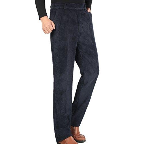WTUS Grandi Pantaloni Sportivi da Di mezza età Uomo, Molto Caldi Blu
