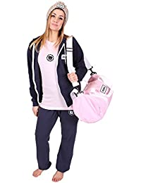 UOW Herren's Leichtes Gym Bekleidungsset / Set für's Fitnessstudio - - Kapuzenweste, Jogginghose, T-Shirt, Top, Sporttasche & Pudelmütze