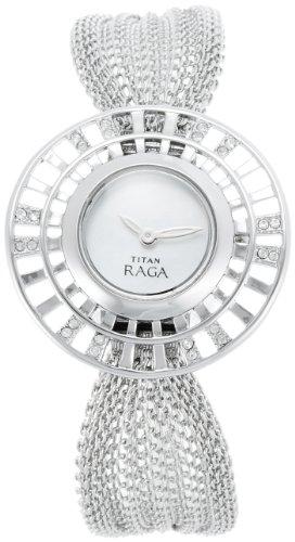 Titan Raga Analog Mother of Pearl Dial Women's Watch - NE9931SM01J image