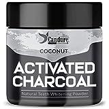 Candure Polvo De Carbón Activado 100% Orgánico Polvo Blanqueador (Coconut)