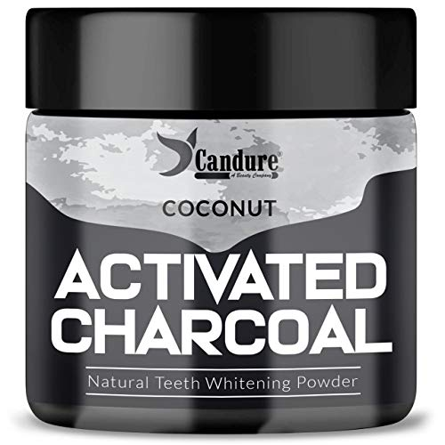 Candure Polvo De Carbón Activado 100% Orgánico Polvo