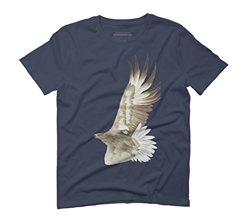 Prairie Eagle Men's Graphic T-Shirt - Design By Humans Navy