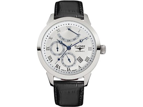 Elysee Talos Miyota 9100 Automatic with Power Reserve Indicator and 24-Hr Sub-Dial 17008