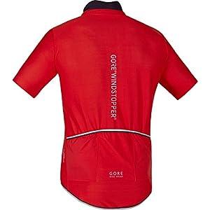 Gore Wear Power Windstopper Soft Shell Maillot, Hombre, Rojo 2017, M