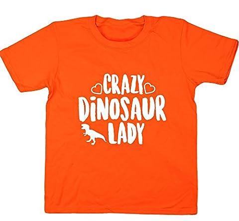 HippoWarehouse Mädchen T-Shirt 6 Jahre Gr. 7-8 Jahre,