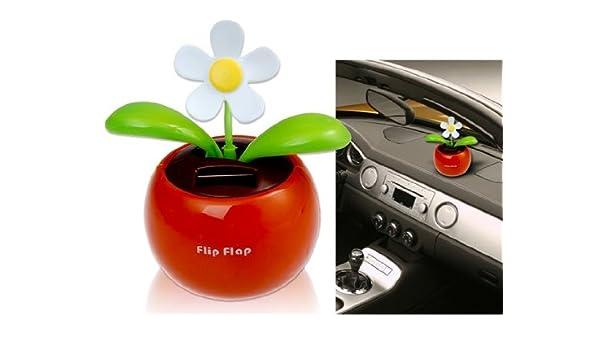 d7a0b773c7147 Flip-Flap Solar Flower (Orange)  Amazon.in  Car   Motorbike