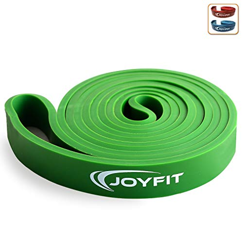 Joyfit Resistance Band For Exercise, Heavy Duty Resistance Stretch Bands For Pilates, Yoga & Loop Gym Fitness Workout (Green 40-70 Lbs)