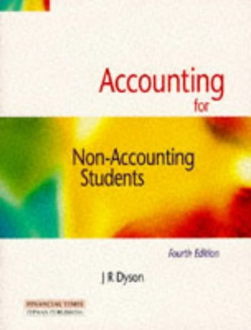 Accounting for Non-Accounting Students by J.R. Dyson (1997-02-19)