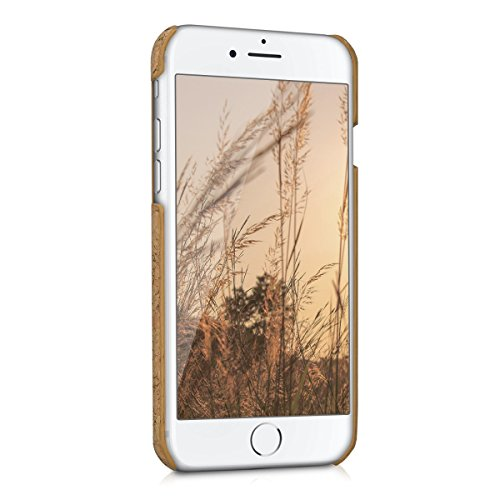 kwmobile Hülle für Apple iPhone 7 / 8 - Backcover Case Handy Schutzhülle Kork - Hardcase Cover Hellbraun .Hellbraun