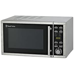 Russell Hobbs RHM2307 23 Litre Silver Digital Microwave 900w