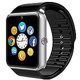 2016 Neueste tragbar Bluetooth Smart Watch GT08 Smart Gesundheit Armbanduhr Telefon mit SIM-Karten Slot und NFC für Android Samsung HTC LG Sony Huawei (Full Funktionen) IOS iPhone 5/5S/6/Plus (Teil-Funktionen)
