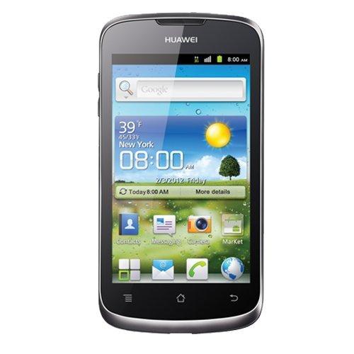 Huawei Ascend G300 Smartphone UNLOCKED (4 Zoll), 2 GB), Schwarz (aus Spanien)