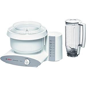 Bosch MUM6N11 Küchenmaschine Styline MUM6 (800 Watt) weiß