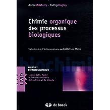 Chimie organique des processus biologiques