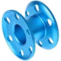 MagiDeal Bobine De Corde De Plongée Aluminium Durable Bleue Env. 8,3 x 5,1 cm