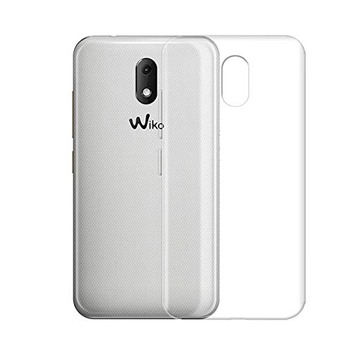 HYMY Wiko Sunny 3 Mini Transparent Hülle Case - Schutzhülle Weich TPU Handytasche Handyhülle Durchsichtig Klar Silikon Handyfall für Wiko Sunny3 Mini (4.0