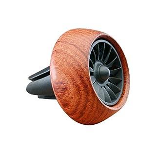 Vicera Auto Duftspender | Auto Lufterfrischer für eine frische Luft im Fahrzeug | Autoduft mit 3 nachfüllbaren Aromen (Braun)