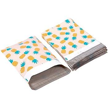 Pack de 100 sobres de Poly - Piña tema envío sobres - Bolsas ...