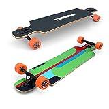'Tsunami extensión 40Drop Through-Longboard Skateboard chilli24® special Edition incluye herramienta de skate Tsunami extensión 40es un super long Board para deslizarse, CARVEN, cruzen, Dancing y para cualquier inclinación, las que puedes encont...