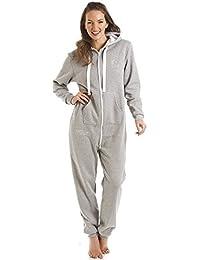 Camille - Fox in a Box - Pijama de una pieza con capucha - Gris