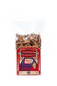 Axtschlag Räucherchips Hickory 1 kg, mehrfarbig