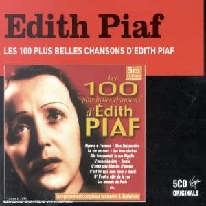Coffret 4 CD : Les 100 plus belles chansons d'Edith Piaf