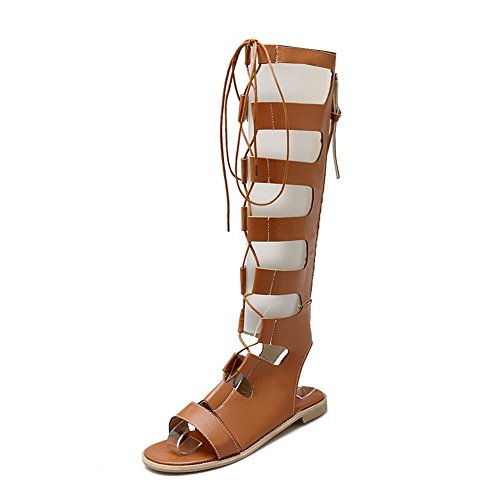 1to9, Sandales Pour Femmes Brown