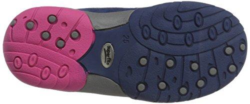 Superfit Sport3 10013506 Mädchen Sneaker Blau (WATER KOMBI)