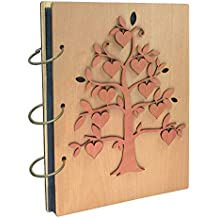 Umi. Essentials album fotografico, design albero genealogico, con tasche 13 x 18, capacità 120 foto