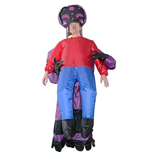 LOVEPET Halloween Parodie Geister Aufblasbare Kostüm Horror Atmosphäre Dress Up Requisiten Veranstaltungsort Layout Szene Kleidung Maskerade Requisiten Hohe Qualität Polyester Material (Up Qualität Kleidung Dress)