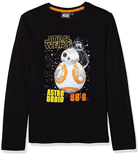 Star Wars HQ1038, Sweat-Shirt Garçon, Noir (Black), 6 Ans