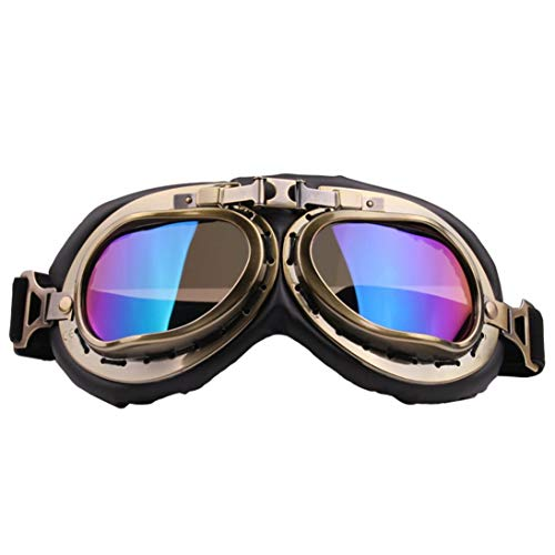 Harley gafas vidrios de la motocicleta todo terreno gafas gafas de arena a prueba de moto retro gafas de casco