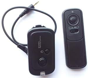Pixtic - Télécommande sans fil radio RS-60E3 pour Canon 450 500D 60D 600D 1000D 1100D etc