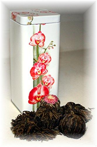 Teeblumen, 5 Stück inkl. Teedose Art.NR: 5032