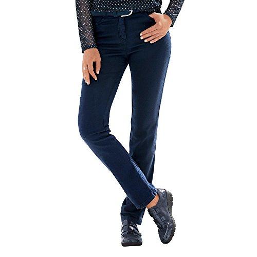 Relaxed by Toni 2840-13 21-31 Damen Hose 'Meine Beste Freundin' 5-Pocket-Form, Groesse 46K, Marine