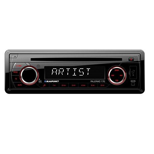 Blaupunkt Palermo 170 Autoradio CD, USB, SDHC, SD, AUX, Radio