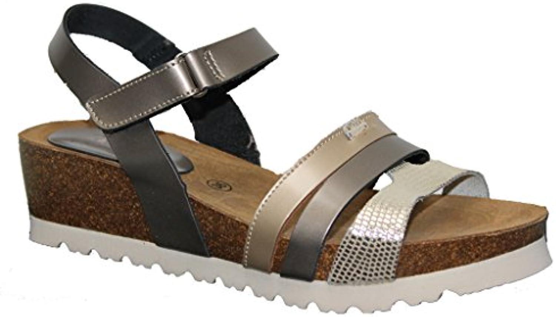 Sandalia Bio Velcro Cuña 5 CMTS.