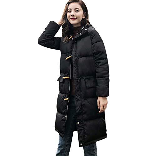 TianWlio Mäntel Frauen Weihnachten Damen Mantel Langarm Strickjacke Jacke Outwear Herbst Winter Mantel Kragen Lange Jacken Warmer Dicker Gepolsterter Kapuzenmantel