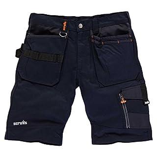 Scruffs Herren Shorts Trade, Blau (Ink Blue), 48 (Herstellergröße: 32)