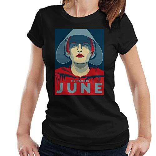 Cloud City 7 Handmaids Tale My Name Is June Women's T-Shirt