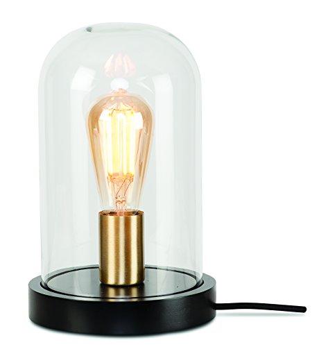 It's about RoMi SEATTLE/T/B Lampe à poser, Fer, E27, 25 W, Noir