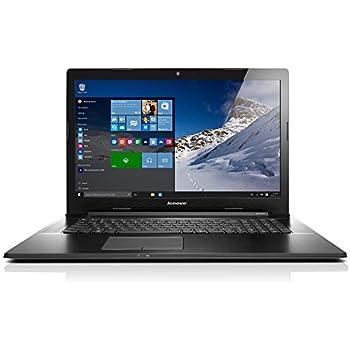 Lenovo G70-80 43,94cm (17,3 Zoll HD+ Glare) Multimedia Notebook (Intel Core i3, 8GB RAM, 1.000 GB HDD, Intel HD, DVD Brenner, Windows 10 Home) schwarz